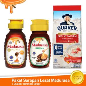 Paket Sarapan Madurasa 2in1 + Quaker Instant 200g