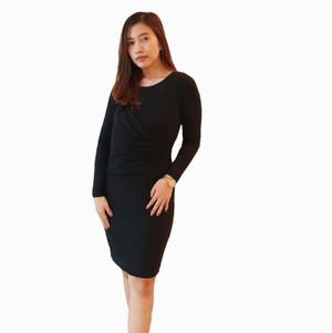 Talbots Dress Black Pakaian Wanita Branded Original Murah