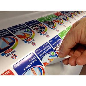 Cetak Print Stiker Merek Label Decal Motor Mobil Merek 3M