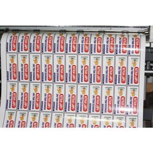 Cetak Print Stiker Bahan Vinyl Anti Air Merek Camel