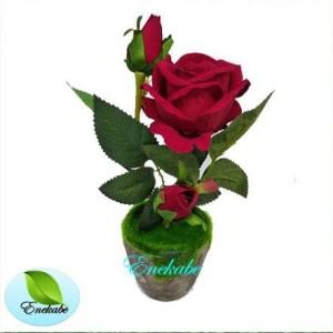 Jual Bunga Hias Bunga Mawar 3 Kuntum Mekar Dan Kuncup Bunga Dekorasi Shabby Kab Tangerang Meutia Matjar Tokopedia