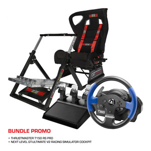 Next Level Racing GTUltimate V2 + Thrustmaster T150 PRO