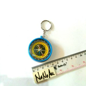gantungan kunci mainan kompas compas keychain lucu unik