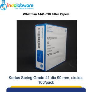 Whatman Kertas Saring 1441-090 Grade 41 Circles, 90mm|Filter Paper