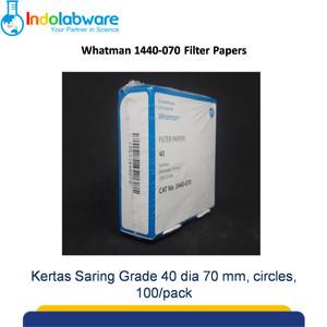 Whatman 1440-070 Filter Paper Grade 40 dia 70 mm|Kertas Saring