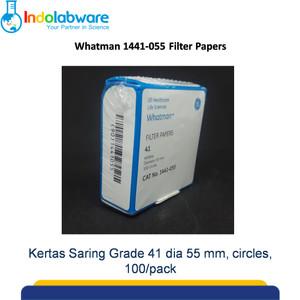 Whatman 1441-055 Filter Paper Grade 41 dia 55 mm|Kertas Saring