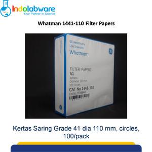 Whatman Filter Paper 1441-110 Grade 41 Circles, 110mm 100/pk