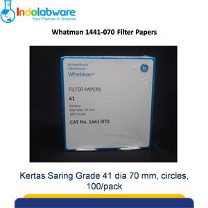 Whatman 1441-070 Filter Paper Grade 41 dia 70 mm|Kertas Saring