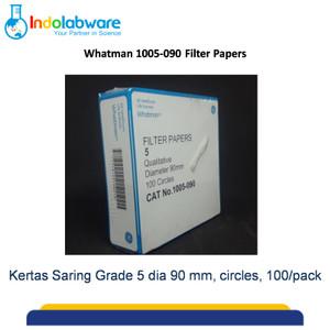 Whatman Kertas Saring 1005-090 Grade 5 Circles 90mm|Filter Paper
