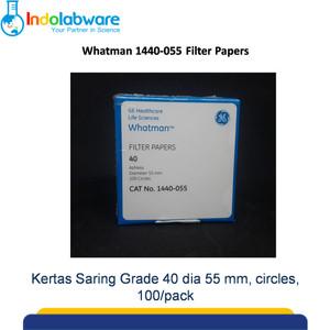 Whatman 1440-055 Filter Paper Grade 40 dia 55 mm|Kertas Saring