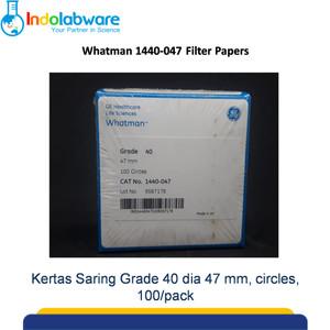 Whatman Filter Paper 1440-047 Grade 40, 47mm 100/pk|Kertas Saring