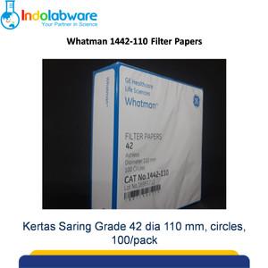 Whatman Filter Paper 1442-110 Grade 42, 110mm 100/pk|Kertas Saring