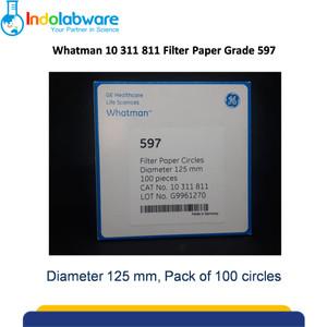 Whatman Filter Paper 10311811 597 Circles 125mm 100/pk|Kertas Saring