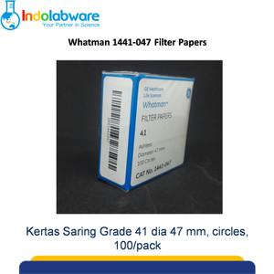 Whatman Filter Paper 1441-047 Grade 41, 47mm 100/pk|Kertas Saring