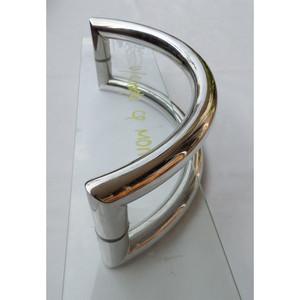 Tarikan Pintu Kaca GSH Stainless Steel Round Pull Handle 4 Glass Door