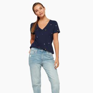 Kaos Wanita Gap Star Pakaian Branded Original Murah