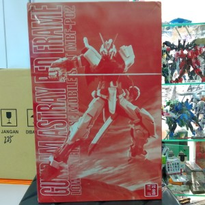 MG GUNDAM ASTRAY RED FRAME CLEAR + PLATING ARMOR