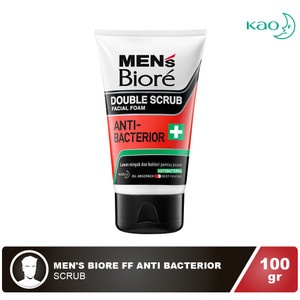 MEN'S BIORE Facial Foam Anti Bacterior 100 gr