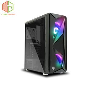 CUBE GAMING STROFA - ATX - SIDE TEMPERED GLASS - RAINBOW RGB FAN