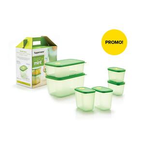 Toples Makanan Tupperware - Toples Dapur - Kulkas - Fresh Mint Collec