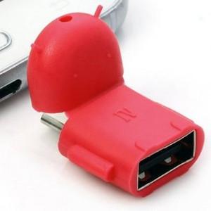 OTG Android Karakter / On The Go / Converter Micro USB to USB Female