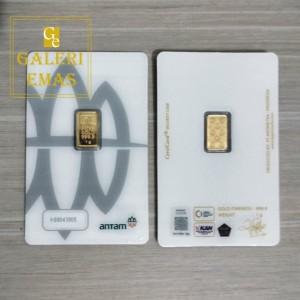 Emas logam mulia Antam 1 gram baru