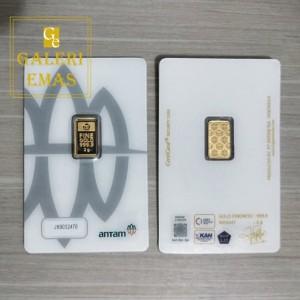Emas logam mulia Antam 2 gram baru