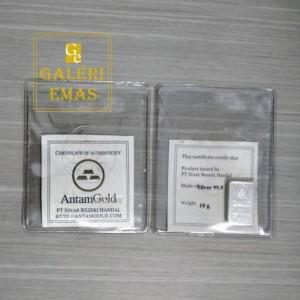 Perak batangan sinar rezeki handal 10 gram