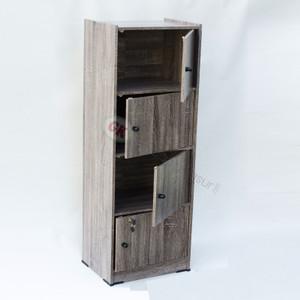 Lemari susun 4 kayu