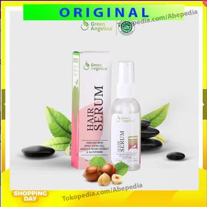 GREEN ANGELICA HAIR SERUM GROWTH ACCELERATOR PENUMBUH RAMBUT ANTI DHT