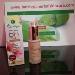 BB Cream + Sunscreen Batrisyia SPF35/Sunscreen Batrisyia Herbal