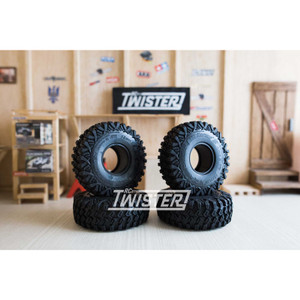 "Boom Racing Baby HUSTLER M/T X 1.55"" 106x35mm Super Soft Tires - 4 Pcs"
