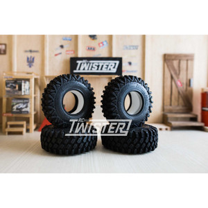 "Boom Racing HUSTLER M/T X 1.9"" 113x40mm Ultra Soft Snail Compound 4pcs"