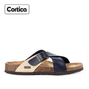 Sandal Kulit Cortica Kasual 14 Leather Original