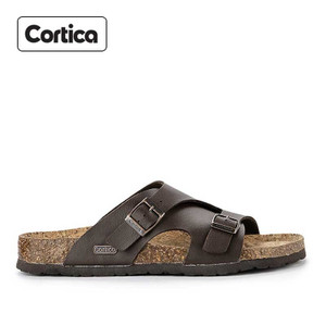 Sandal Kulit Cortica Kasual 15 Leather Original