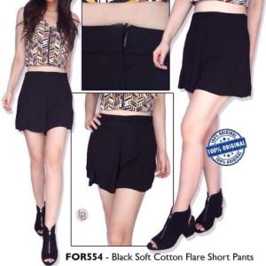 Forever21 Celana hot pants Black Pakaian Branded Original Murah
