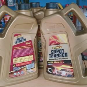 Jual Oli Mobil Diesel Evalube Super Transco Sae 15w 40 5 Ltr Kab Karawang Deinoz99 Tokopedia