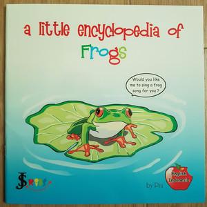Buku anak ensiklopedia katak (dua bahasa)
