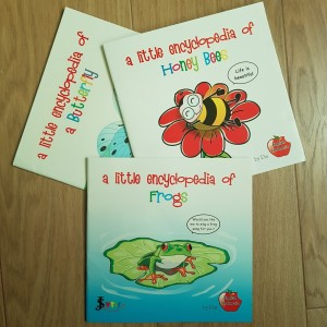 Buku anak ensiklopedia lengkap 3 buku (dua bahasa)
