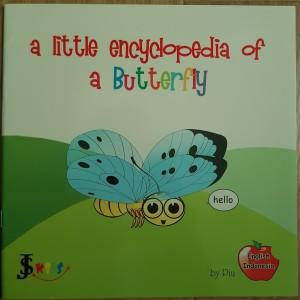 Buku anak ensiklopedia kupu-kupu (dua bahasa)