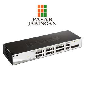 DGS-1210-28P Websmart Switch 24 Port Gigabit + 4 SFP