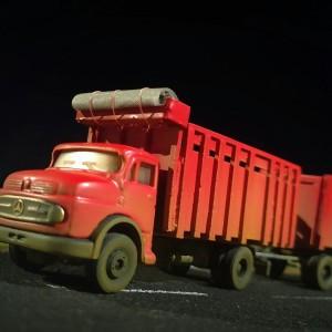diecast truck mercedes nonong kastem