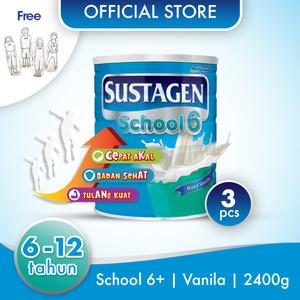 Sustagen School Susu Pertumbuhan Vanila 2400g Free Boneka Gambar