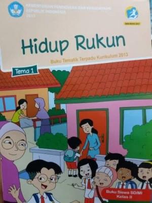 Jual Buku Sd Buku Tematik Sd Kelas 2 Tema 1 Hidup Rukun Jakarta Pusat Jaya Wija Tokopedia