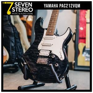 Yamaha PAC212VQM Translucent Black Electric Guitar PAC212