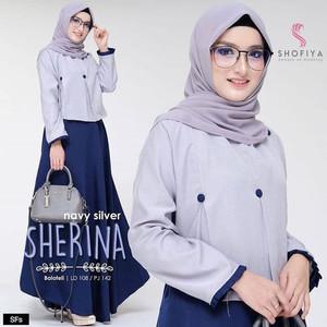 FASHION DRESS MUSLIM SHERINA DRESS