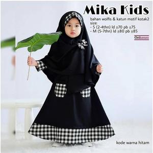 FASHION MUSLIM SYAR'I KIDS MIKA KIDS