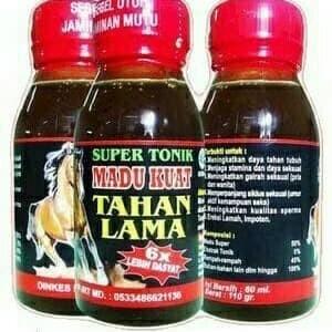 Madu super tonik Tahan Lama