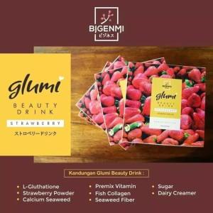 Bigenmi Glumi Beauty Drink/Glumi Collagen/Kolagen Pemutih Badan