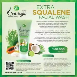 Batrisyia Extra Squalene Facial Wash 100 ml